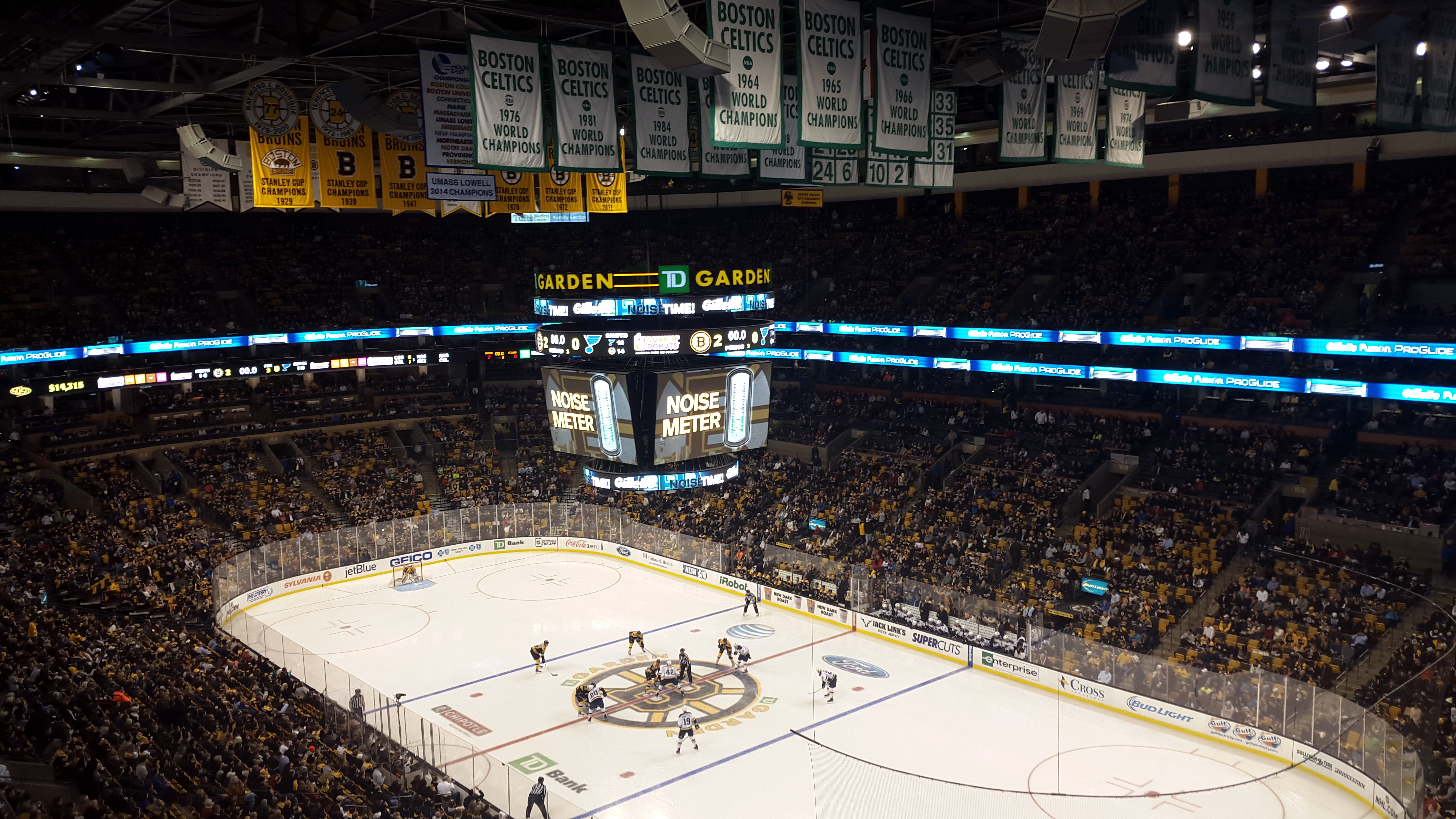 Boston Bruins Td Garden Garden Ftempo