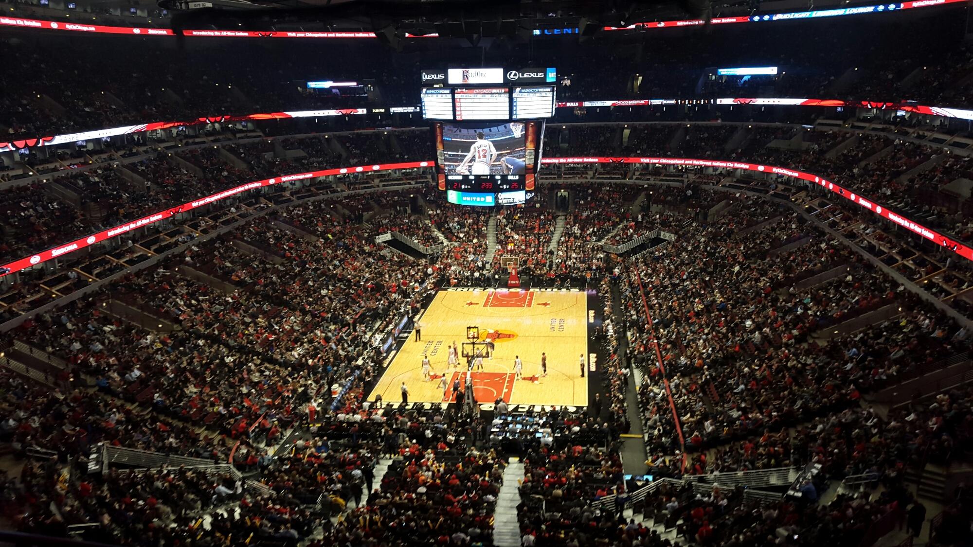 Chicago Bulls Stadium United center, chicago, illinois usa – chicago ...